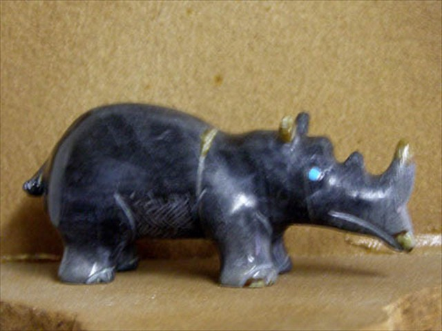 Rhinoceros Picasso Marble