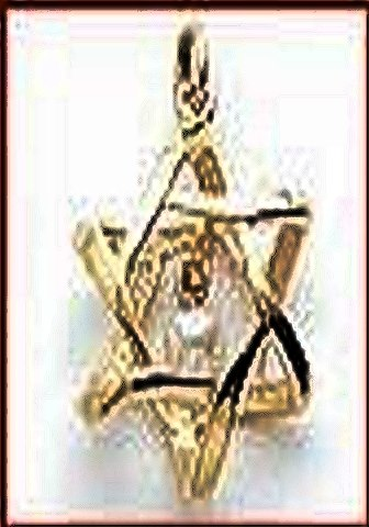 Rose Quartz Star of David Pendant - Mystical Crystal Pendants